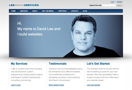 LeeMediaServices.com Launches New Website